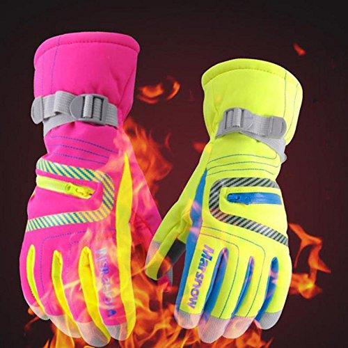 Ski & Snowboard Dynamisch Männer Frauen Ski Handschuhe 2018 Neue Heiße Snowboard Handschuhe Motorrad Reiten Winter Ski Handschuhe Winddicht Wasserdicht Unisex Schnee Handschuhe Erfrischung