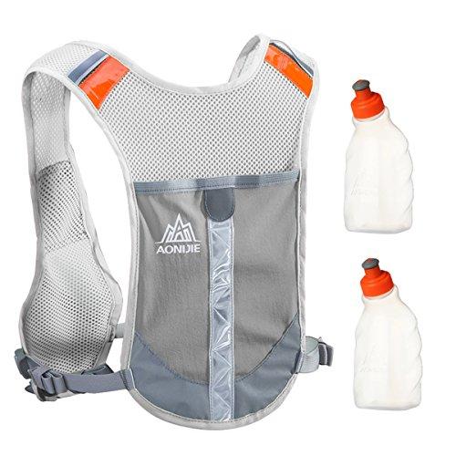 Lauftaschen Lauf Aonijie Unisex Marathon Trink Weste Pack Läuft Wasser Tasche Radfahren Wandern Bag Outdoor Sport Licht Gewicht Radfahren Tasche Phantasie Farben