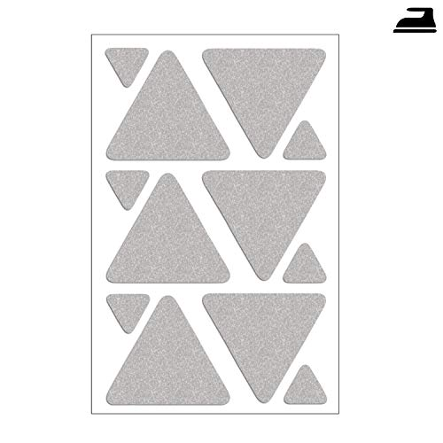 3x reflexstreifen reflektorstreifen zum aufb geln f r. Black Bedroom Furniture Sets. Home Design Ideas