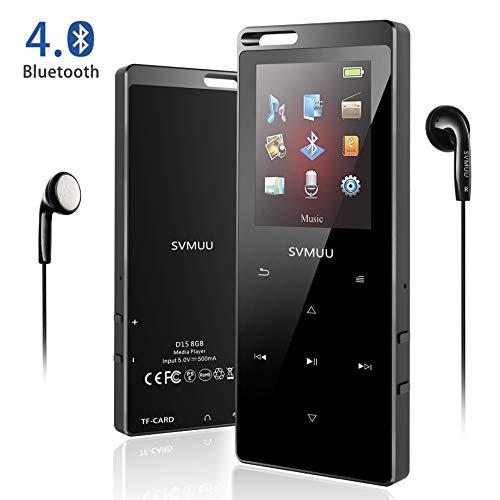 Voice Recorder Reine WeißE Unterhaltungselektronik ZuverläSsig Bluetooth4.1 Mp3 Player 16 Gb Ultra-dünne Metall Fall Touch-taste Verlustfreie Sound Qualität Mp3 Musik-player Mit Fm