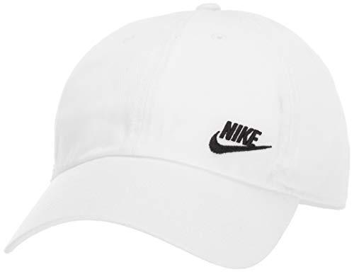 dc183a251f880 Nike Damen W NSW H86 Cap Futura Classic Hat, White/Black, MISC